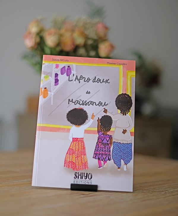 """Couverture du livre """"L'afrodoux de Maïssanou"""""""